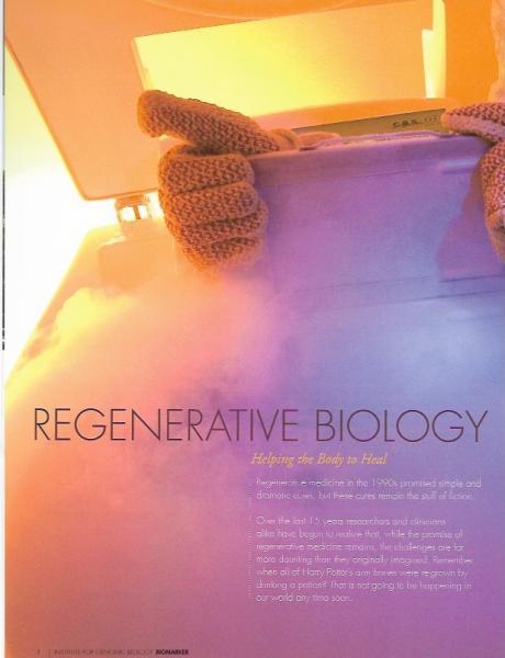 Regenerative Biology