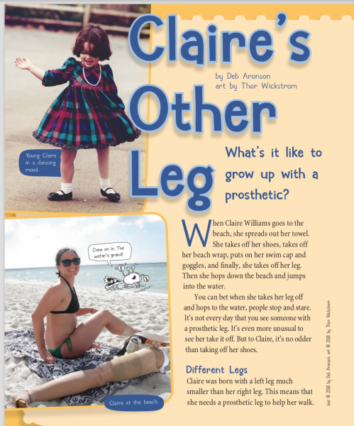 Claire's Other Leg