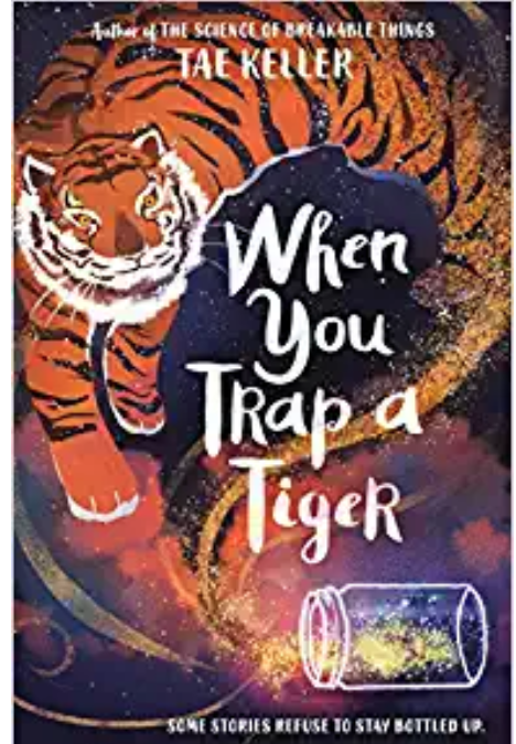 A Tiger in the Basement: Tae Keller's Amazing Book Wins the Newbery!!